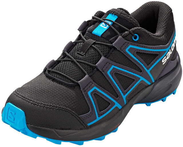 Salomon Speedcross Schuhe Kinder blackgraphitehawaiian surf